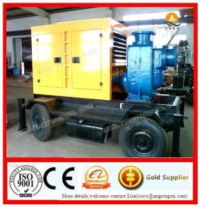 QZX series diesel engine Self-priming water pump,sewage pump Manufactures