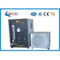 Micro Controlled Flame Test Equipment 820*820*1500 MM With Observation Window Manufactures