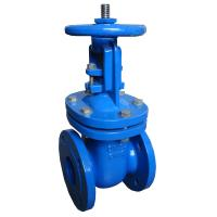 Solid Water Cast Steel Gate Valve Commercial Flanged Connection Type Manufactures