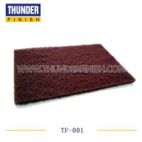 Light Maroon Abrasive Scouring Pad Manufactures