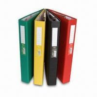 Ring Binder with Gold Stamp, Available in Different Colors, OEM/ODM Orders are Welcome Manufactures