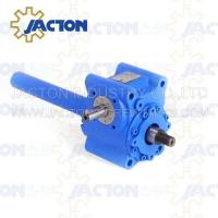 5 KN Mechanical Worm Gear Screw Jack Trapezoidal lifting Screw 16MM Height Adjustment Manufactures