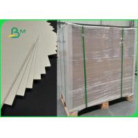 China Grey Carton Gris 1200gsm Laminated Grey Board Paper Sheet Strong Stifiness on sale