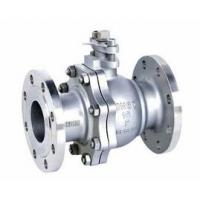 2-pc stainless steel ball flange valve ASME B16.34 full port wcb cf8m casting handle Manufactures