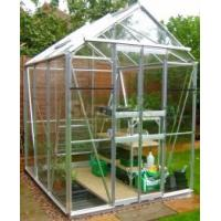 Buy cheap new style aluminum greenhouse with louver from wholesalers