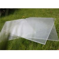 Small Size 100 x 100mm Solar Photovoltaic Glass 3.2mm Thickness For Solar Cell Manufactures