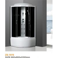 China Diamond White Steam Shower Bath Enclosure Easily Maintained Size 900*900*2200mm on sale
