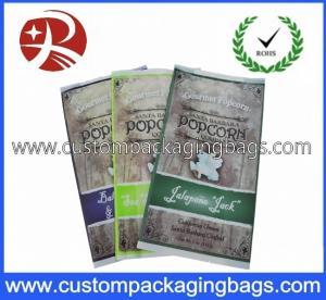 CPP / OPP Plastic Food Packaging Bags For Popcorn Retail Packaging