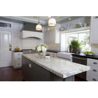 White Spring Granite Slab Countertop Whites Grays Deep Reds Kitchen Vanity Tops Manufactures