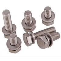 A2-70 Stainless Steel Hex Bolt With Nut And Washer Size M4-M48 DIN933 Manufactures