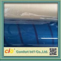 OEM Light Blue Tone PVC Clear Film  Anti Scratch Thickness 0.09 - 0.50mm Manufactures