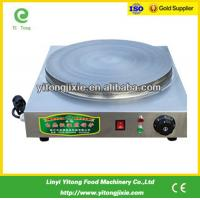 China China manufacture 400mm electric crepe maker machine on sale