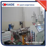 Glassfiber PPR pipe extrusion line 28-30m/min KAIDE extruder Manufactures