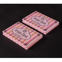China Makeup Custom Printed Cosmetic Boxes / Gift Perfume Packaging Boxes on sale