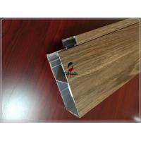 Customized Industrial Commereial 6063 T5 Aluminum Extrusion Profiles For Building Outside Manufactures