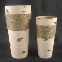 Porcelain Vases with Rope/Home Decoration/Various Designs Available/Meets American/European Standard Manufactures
