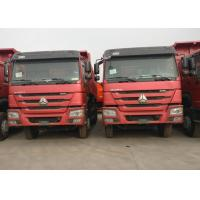 15 Cubic Meter 40 Ton Dump Truck / Tipper Truck WD615.47 371HP For Construction Manufactures