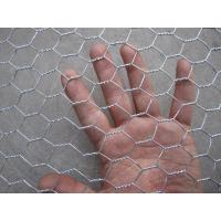 Hot Dipped Galvanized Hexagonal Wire Netting , Silver Ornamental Wire Fence Manufactures