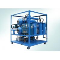 China Automatilc Vacuum Transformer Dehydrator Oil Purification System With Explosion Proof System on sale