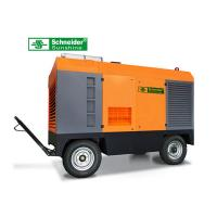 75KW Portable Screw Air Compressor 10 m³/min 7 Bar Long Maintenance Cycle Manufactures