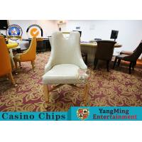 Nordic Luxury Metal Carpet Wheel Portable Table And Chairs  / Fashion Custom Casual Dining Chairs Manufactures