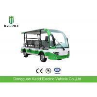 AC Motor 72V Mini 7.5KW Electric Sightseeing Car Max Loading 8 Persons Low Speed Manufactures
