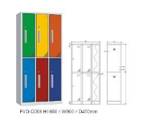 Multifunctional compact steel locker/shower cabinet room for wholesales,2/3/4/5/6/8/9 door Manufactures
