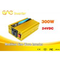 High frequency 300W 24V to 110V/220V Car Power Inverter for single phase motor Manufactures