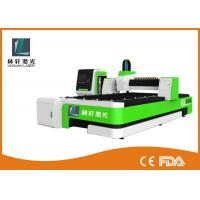380V 50HZ Fiber Laser Cutting Equipment , Water Cooling Desktop Laser Cutter Manufactures