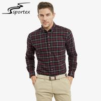 Buy cheap 100% Cotton Flannel Male Formal Shirts Sleeve Length 65.5cm - 68.5cm from wholesalers