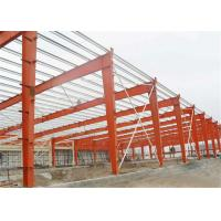 Self Design Prefab Workshop Buildings , Industrial Structural Steel Workshop Manufactures