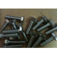 4.8 Grade Steel Hex Bolt , Full Thread Galvanized Structural 	Hex Head Bolt Manufactures