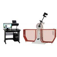 China 380V Material Testing Machine , Computer Controlled Semi - Automatic Charpy Impact Testing Machine on sale