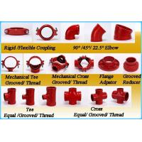 Ductile Iron Pipe Fittings Rigid Coupling with FM UL Manufactures