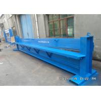 Steel Sheet Hydraulic Cutting Machine 1mm PPGI Galvanized Metal Color Manufactures