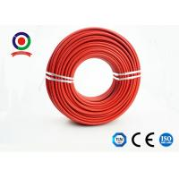 Sunlight ResistantSingle Core Solar Cable 4mm XLPE With TUV Standard Manufactures
