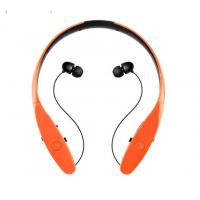 Neck Band Bluetooth Stereo Headphones , Noise Cancelling Earphones Magnet Control Manufactures