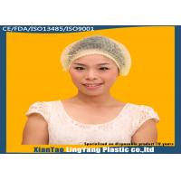 China Disposable 21 nonwoven mob cap/clip cap/hairnet/surgical cap for food industry on sale