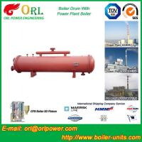 Anti shock gas hot water boiler mud drum ASME Manufactures