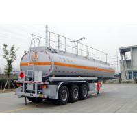 42000L-3 Axles-Carbon Steel Tanker Semi-Trailer for gasline and cyclopentane Manufactures