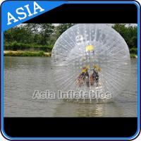 China TPU or PVC Human Zorb Ball , Water Walking Zorb , Inflatable Ball Toys for sale