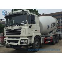 Buy cheap White Concrete Mixing Transport Truck 8 Cubic Meter SHACKMAN 6X4 Truck from wholesalers