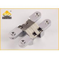 Professional American Hinge / Invisible Zamak Concealed Hinges For Thick Doors 30mm Manufactures