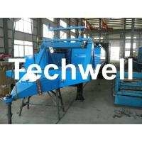 Electric Control Trailer Mounted K Span Roll Forming Machine For Arched Roof Panel Manufactures