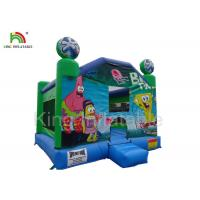 Inflatable airplane jumping castle 0.45-0.55mm PVC tarpaulin , unti-riptured Manufactures