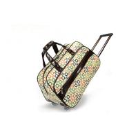 Middle size duffel roller luggage bags for airplane , Small suit travel case Manufactures