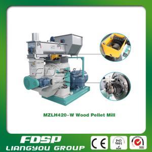 Gear-driven high efficiency wood sawdust pellet press Manufactures