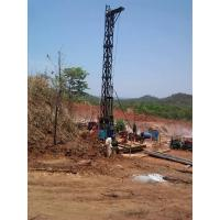 China Gold Mining Core Exploration Drill Rigs Deep 2600m Multiple Speed on sale