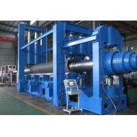 12000 mm Length Specialized oil & gas plate rolling machine for small diameter steel tubes Manufactures
