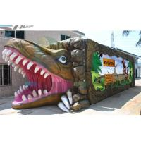 7.1 Audio system Mobile and  product promotion 5D cinema cabin with dinosaur box Manufactures